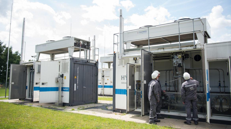 Methanisierungsanlage in Falkenhagen mit drei Mitarbeitern