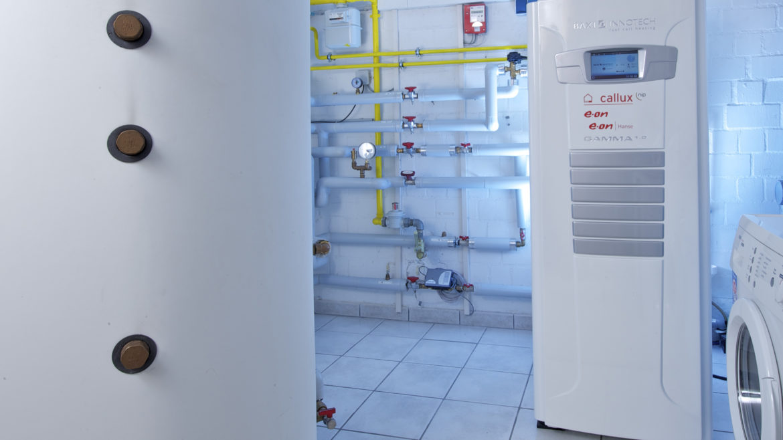 Installiertes Brennstoffzellenheizgerät