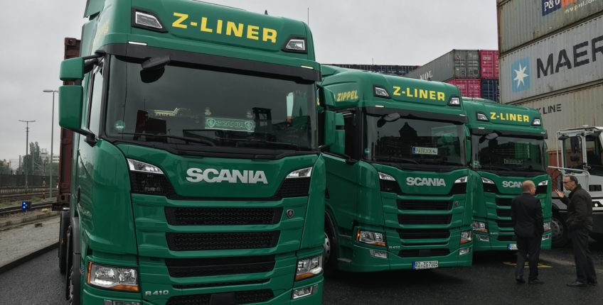 Bio-CNG Trucks (Zippel)