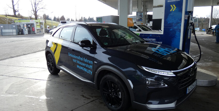 Neue Wasserstoffstation in Deutschland eröffnet